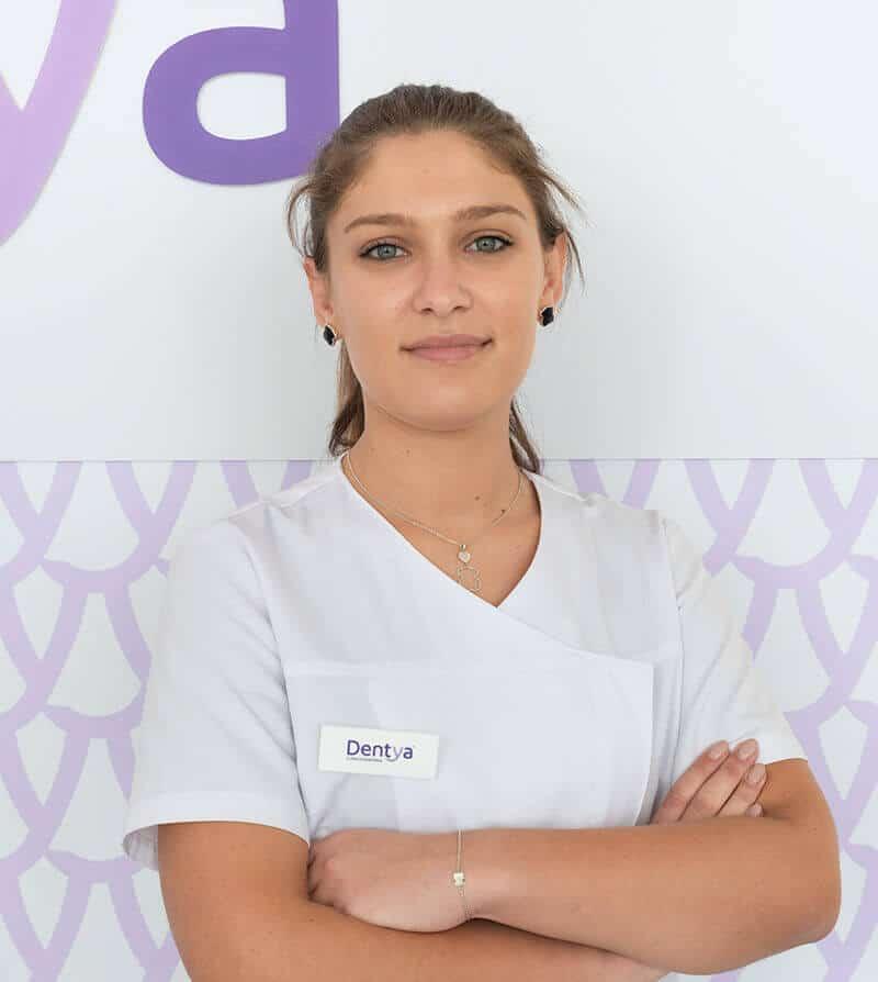 Doutora Catarina Gavina, médica dentista da Dentya