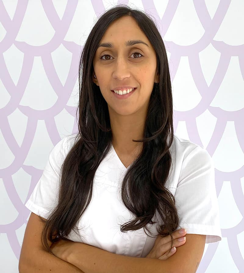 Doutora Joana Certo, médica dentista da Dentya